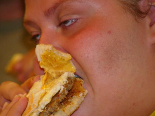 nezdravé jídlo